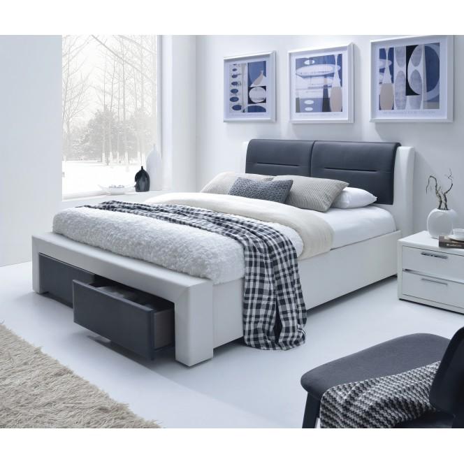 CASSANDRA S 160 cm łóżko tapicerowane...