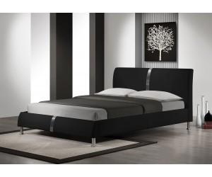 DAKOTA łóżko czarny (2p 1szt)