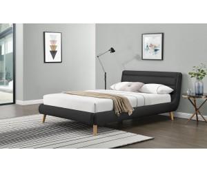 ELANDA 140 cm łóżko ciemny popiel (2p 1szt)