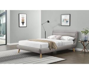 ELANDA 140cm łóżko jasny popiel (2p 1szt)