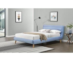 ELANDA 140 cm łóżko niebieskie (2p 1szt)