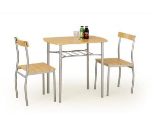 LANCE zestaw stół + 2 krzesła olcha
