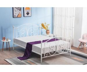 Łóżko PANAMA 120 białe HALMAR