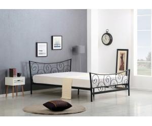 RAMONA łóżko czarne (2p 1szt)