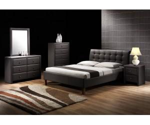 SAMARA 160 łóżko czarny (2p...
