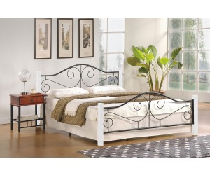 Łóżko VIOLETTA 160 biały /...