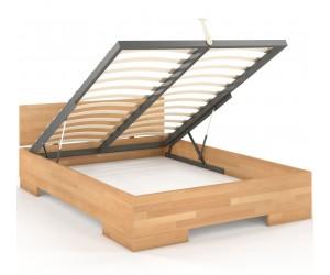 Wysokie łóżko drewniane...