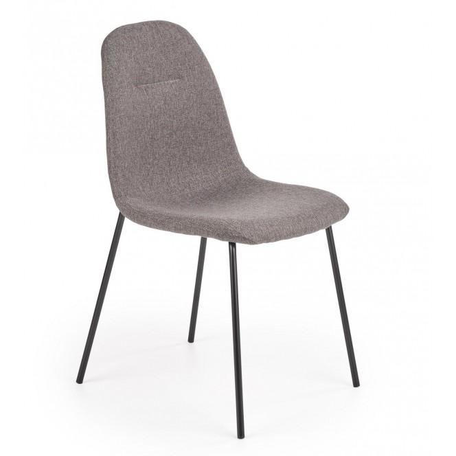 Krzesło metalowe K413 popielate HALMAR