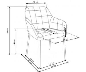 Krzesło metalowe K306...