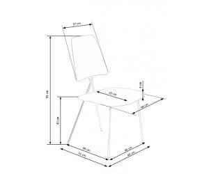 Krzesło metalowe K411...