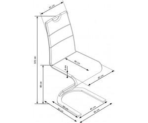 Krzesło metalowe K350...