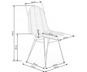 Krzesło metalowe K337...