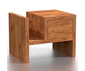 Drewniana szafka nocna PAU...