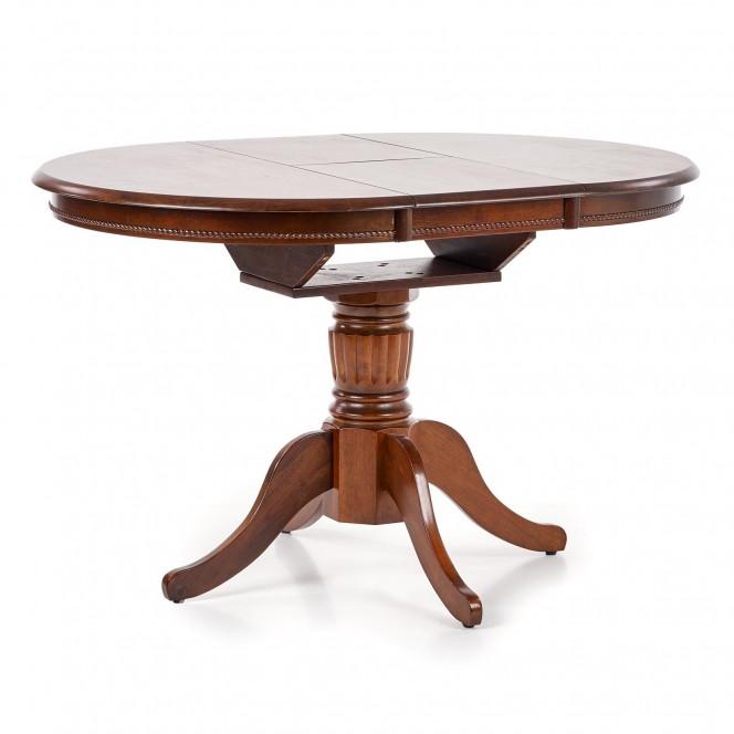 Stół rozkładany WILLIAM ciemny orzech...