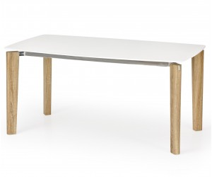 Stół WEBER biały / dąb...