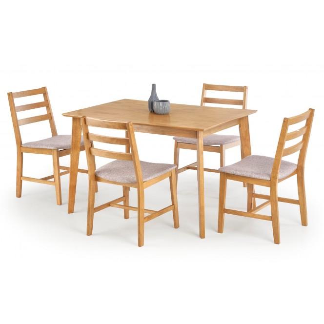 Zestaw CORDOBA stół + 4 krzesła HALMAR