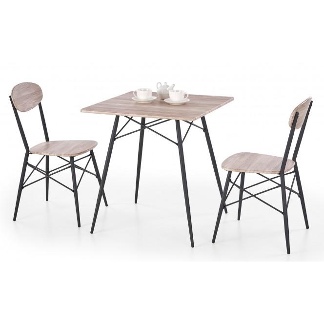 Zestaw KABIR KWADRAT stół + 2 krzesła...