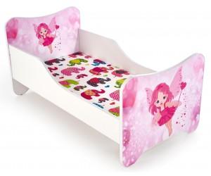 Łóżko HAPPY FAIRY biało /...