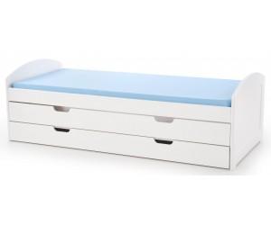 Łóżko LAGUNA 2 białe HALMAR