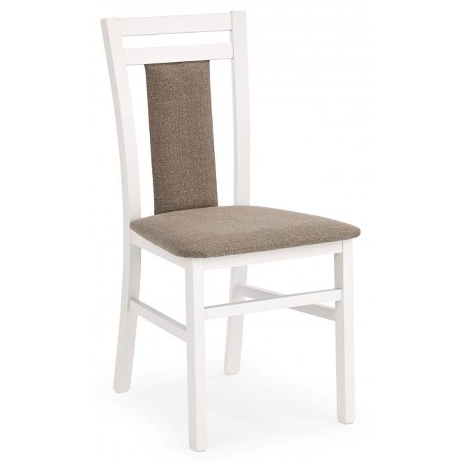 Krzesło HUBERT 8 biały / Inari 23 HALMAR