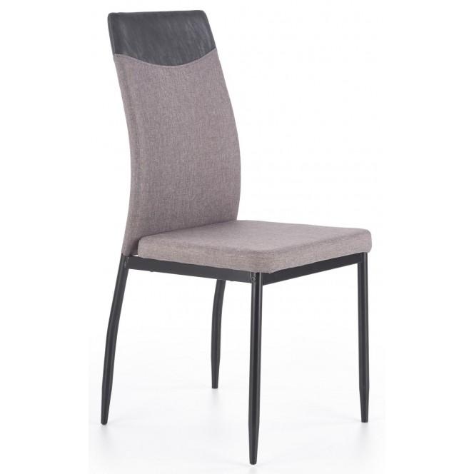 Krzesło K276 jasny popiel / czarny...
