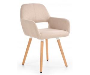 Krzesło K283 beżowe HALMAR