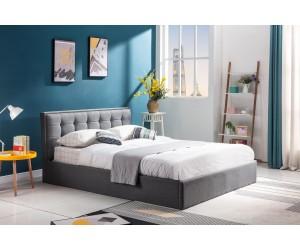 PADVA 160cm łóżko z pojemnikiem popielaty (2p 1szt)