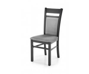GERARD2 krzesło czarny / tap: velvet Monolith 85 (popiel) (1p 2szt)