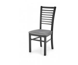 GERARD6 krzesło czarny / tap: velvet Monolith 85 (popiel) (1p 2szt)
