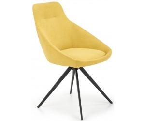 Krzesło metalowe K431 żółty...