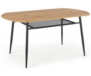 Stół 160x90 z rattanową...