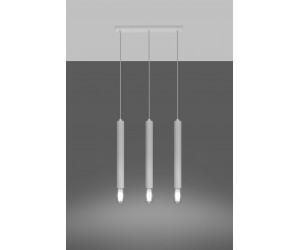 Lampa wisząca WEZYR 3 biała