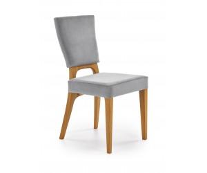 WENANTY krzesło dąb miodowy / popielaty (1p 2szt)