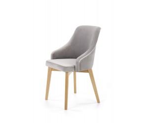 TOLEDO 2 krzesło dąb miodowy / tap. Solo 265 (1p 1szt)