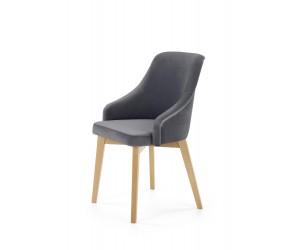 TOLEDO 2 krzesło dąb miodowy / tap. Solo 267 (1p 1szt)