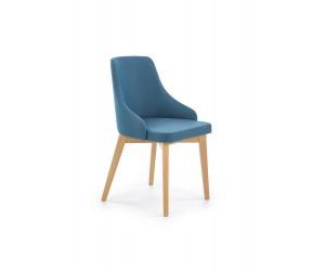 TOLEDO krzesło dąb miodowy / tap. Inari 87 (turkusowy) (1p 1szt)