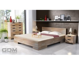 Łóżko bukowe SPECTRUM MAXI & LONG ST
