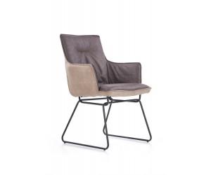 K271 krzesło ciemny popiel...