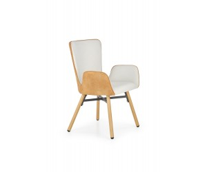 K286 krzesło jasny popiel / jasny brąz (1p 2szt)