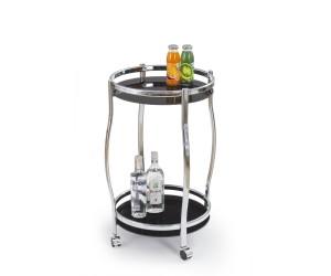 BAR8 stolik barowy czarny