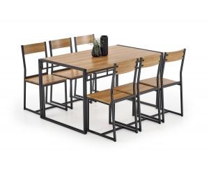 BOLIVAR zestaw stół + 6...