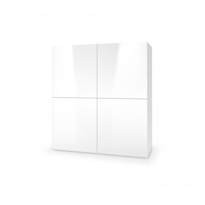 LIVO KM-100 komoda stojąca biały (1p...
