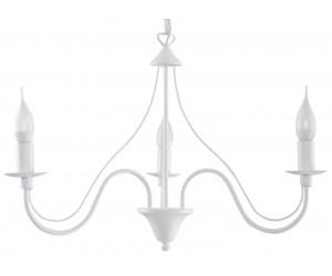 Żyrandol MINERWA 3 Biały SOLLUX