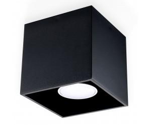 Plafon QUAD 1 Czarny SOLLUX