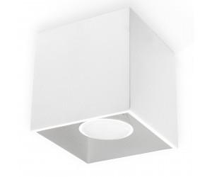 Plafon QUAD 1 Biały SOLLUX