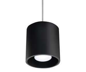 Lampa Wisząca ORBIS 1 Czarny SOLLUX