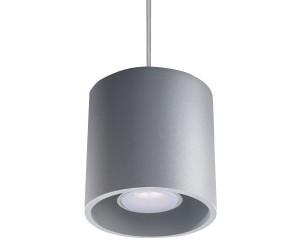 Lampa Wisząca ORBIS 1 Szary SOLLUX