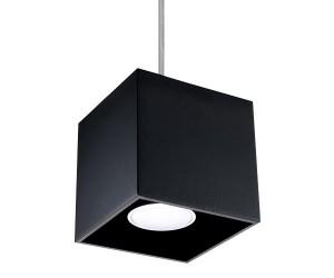 Lampa Wisząca QUAD 1 Czarny SOLLUX