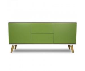 Zielona komoda 160 cm -...