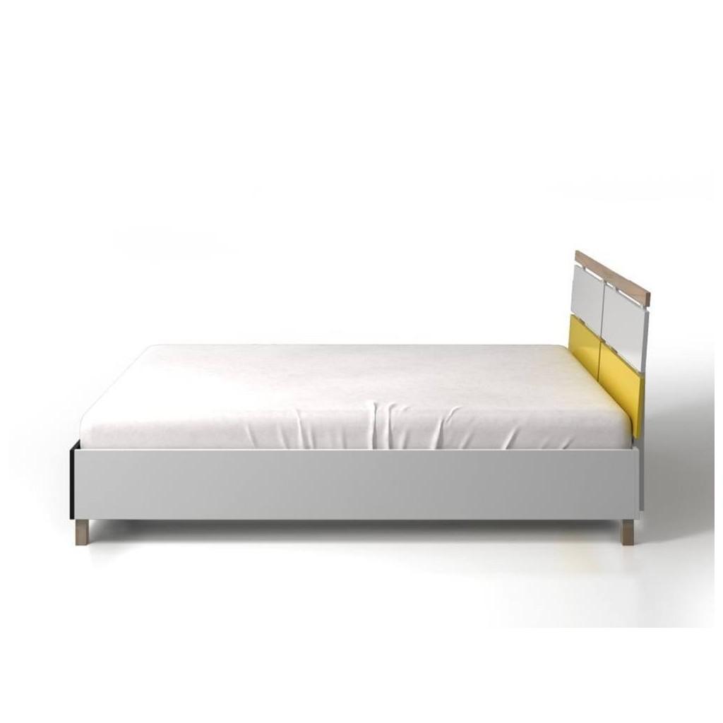 Drewniane łóżko Do Sypialni Ze Skrzynią Skandica Vaxholm Bc